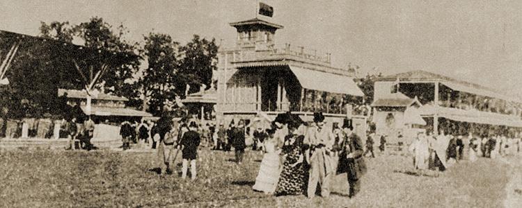 Racing in Warsaw before Służewiec was built.