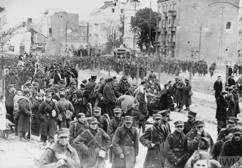 The Germans and Soviets invade Poland Copyright: © IWM.